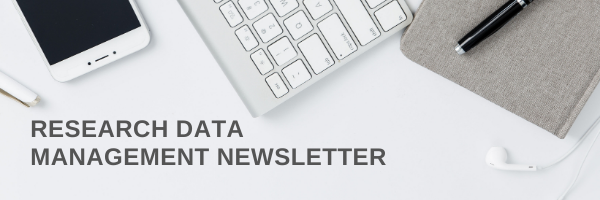 Research Data Management Newsletter Header